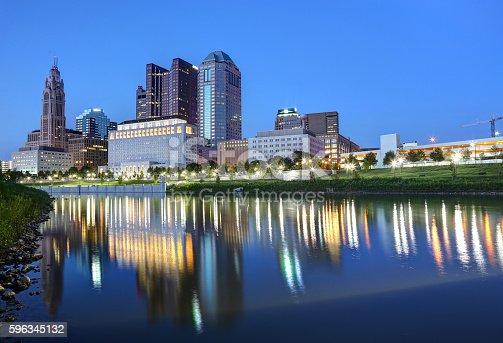 1024248138istockphoto Downtown Columbus, Ohio at dusk 596345132