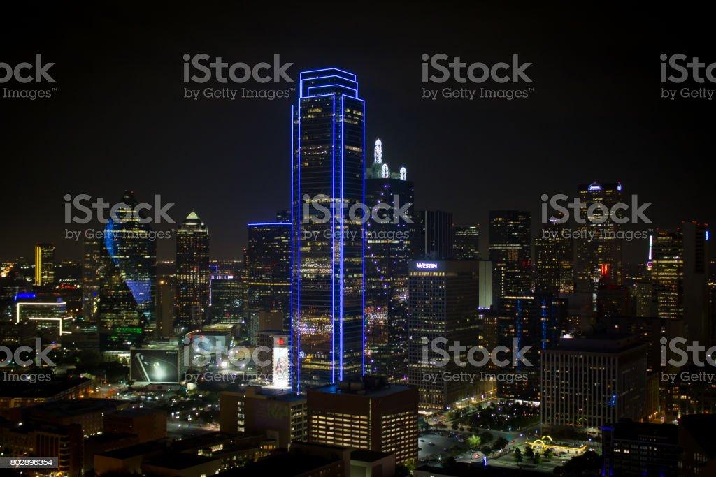 Downtown Dallas stock photo