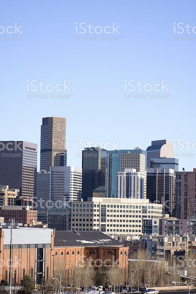 Downtown Denver royalty-free stock photo