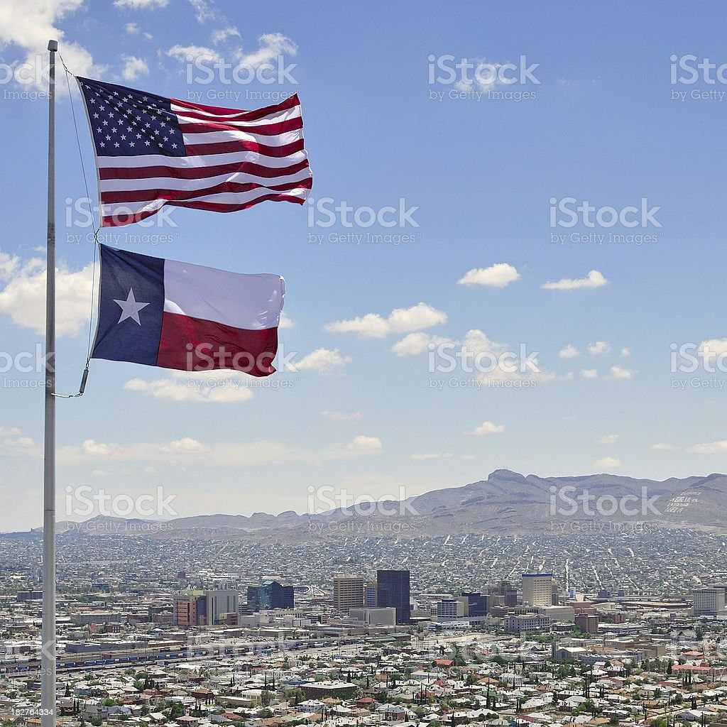 Downtown El Paso royalty-free stock photo