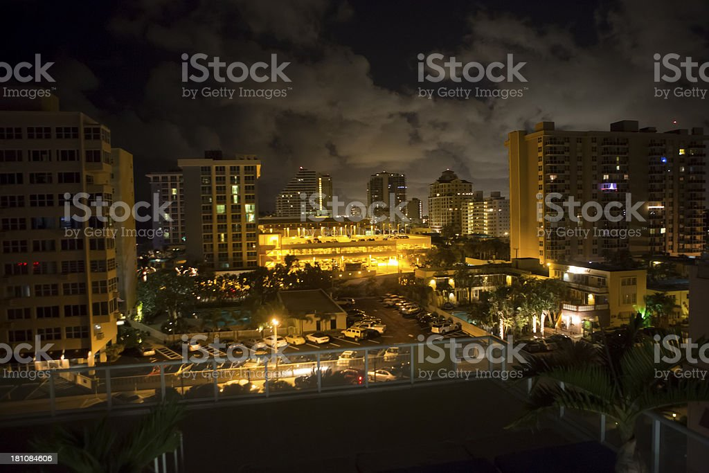 downtown florida royalty-free stock photo
