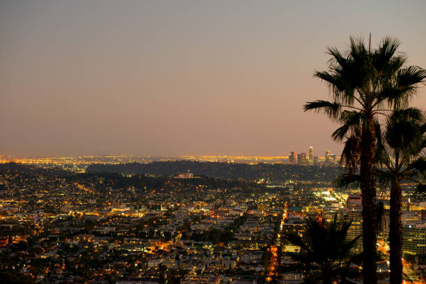downtown glendale - san fernando valley stock photos and pictures