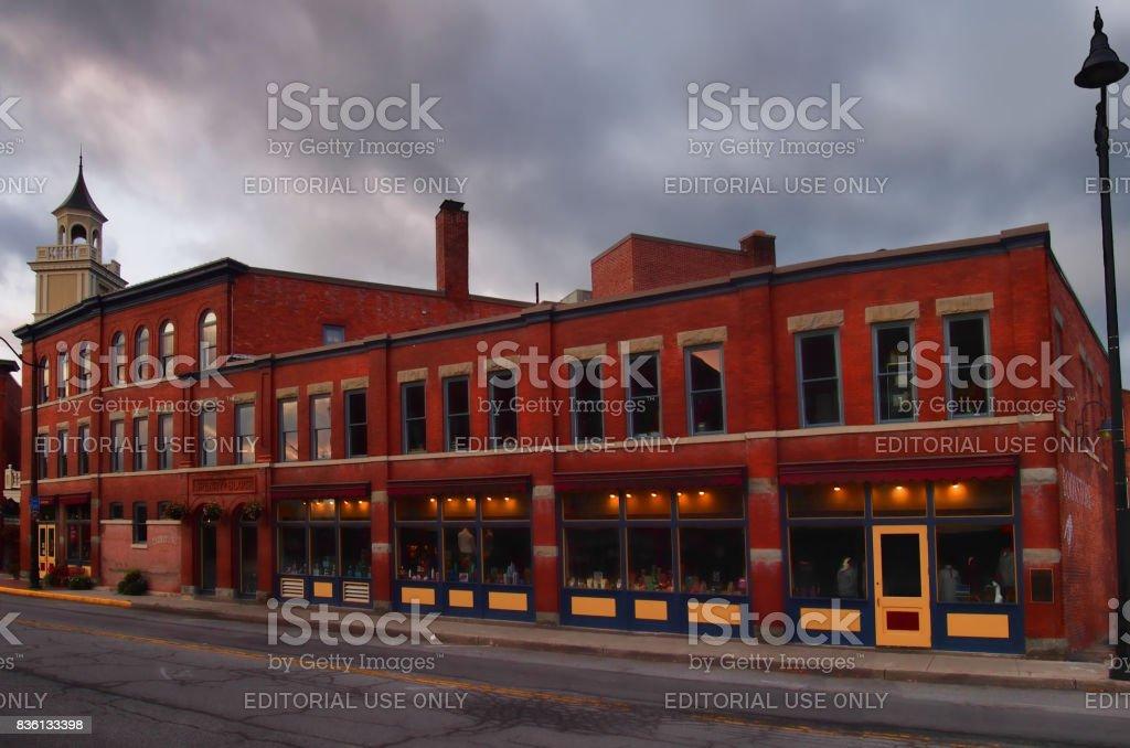 Downtown Hamilton, NY