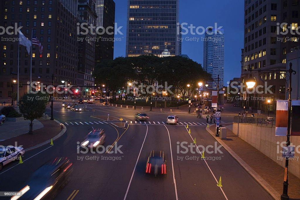 Downtown Hartford CT royalty-free stock photo