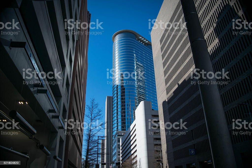 Downtown Houston stock photo