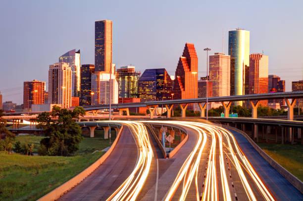 Downtown Houston, Texas Skyline stock photo