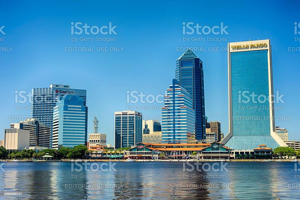 Downtown Jacksonville, Florida stock photo