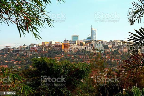 Innenstadt Von Kigali Ruanda Stockfoto und mehr Bilder von Afrika