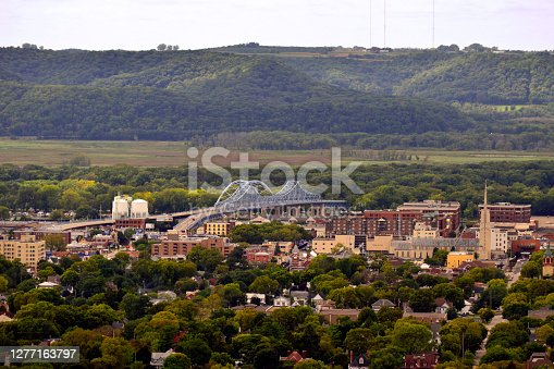 istock Downtown La Crosse from Above 1277163797