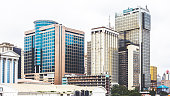 Downtown Lagos, Nigeria.