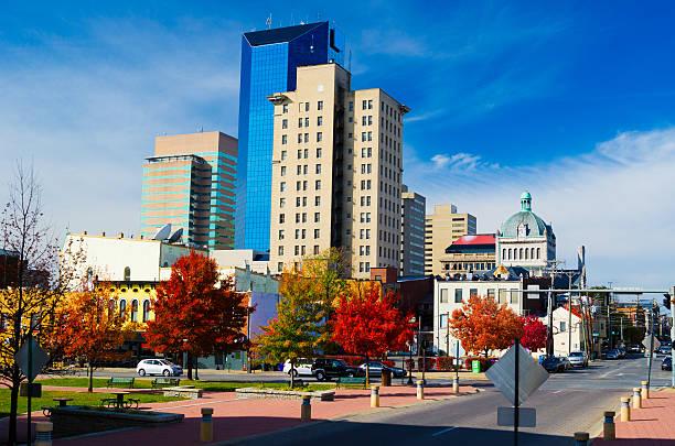 Downtown Lexington Skyline stock photo
