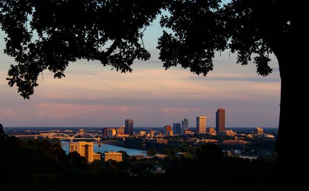 Die Innenstadt von Little Rock Skyline – Foto