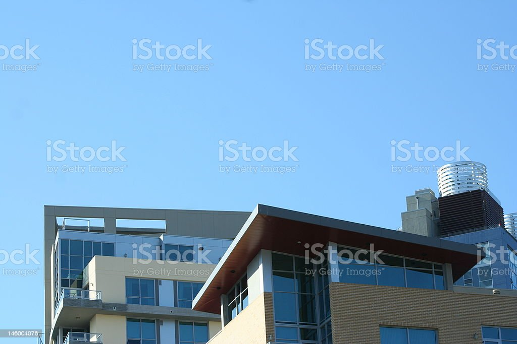 Downtown Living stock photo