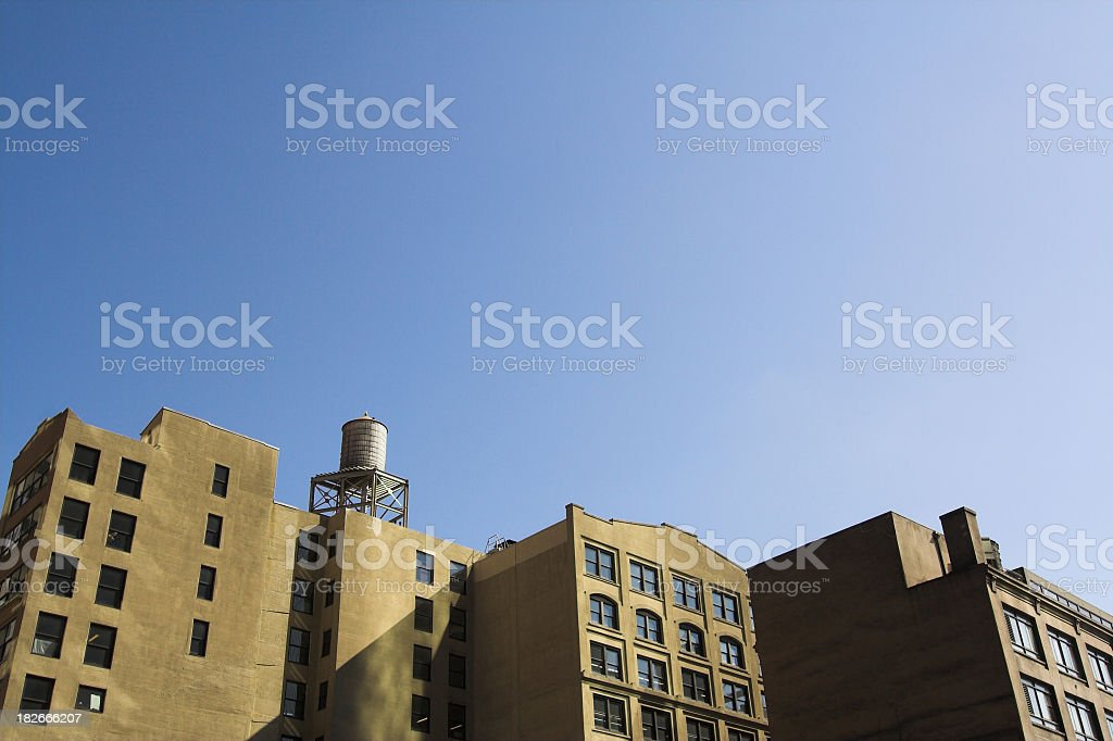 Downtown Lofts royalty-free stock photo