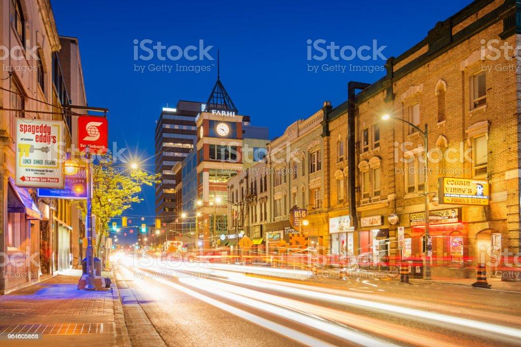 Fotografía De Centro De La Ciudad De London Ontario Canadá Y Más