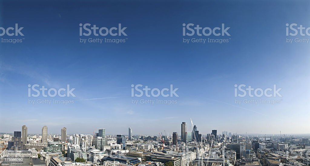 Downtown London royalty-free stock photo