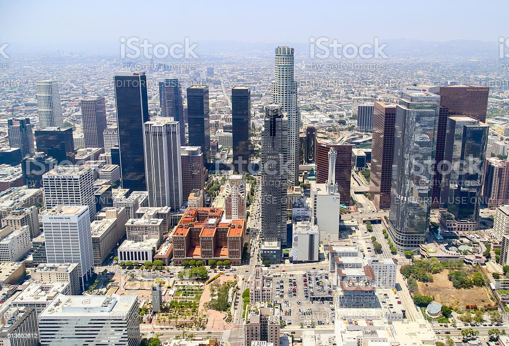 Downtown Los Angeles stock photo