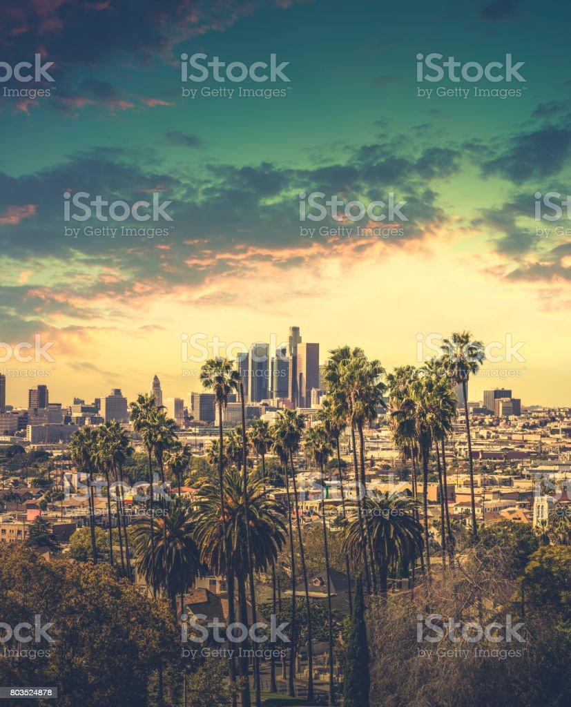 DTLA Downtown Los Angeles stock photo
