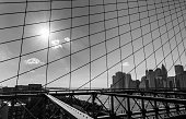 istock Downtown Manhattan as seen from Brooklyn Bridge, New York City, USA 1227565808