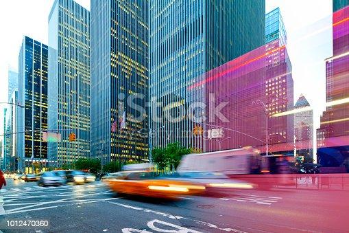 Rockefeller Center, downtown Manhattan