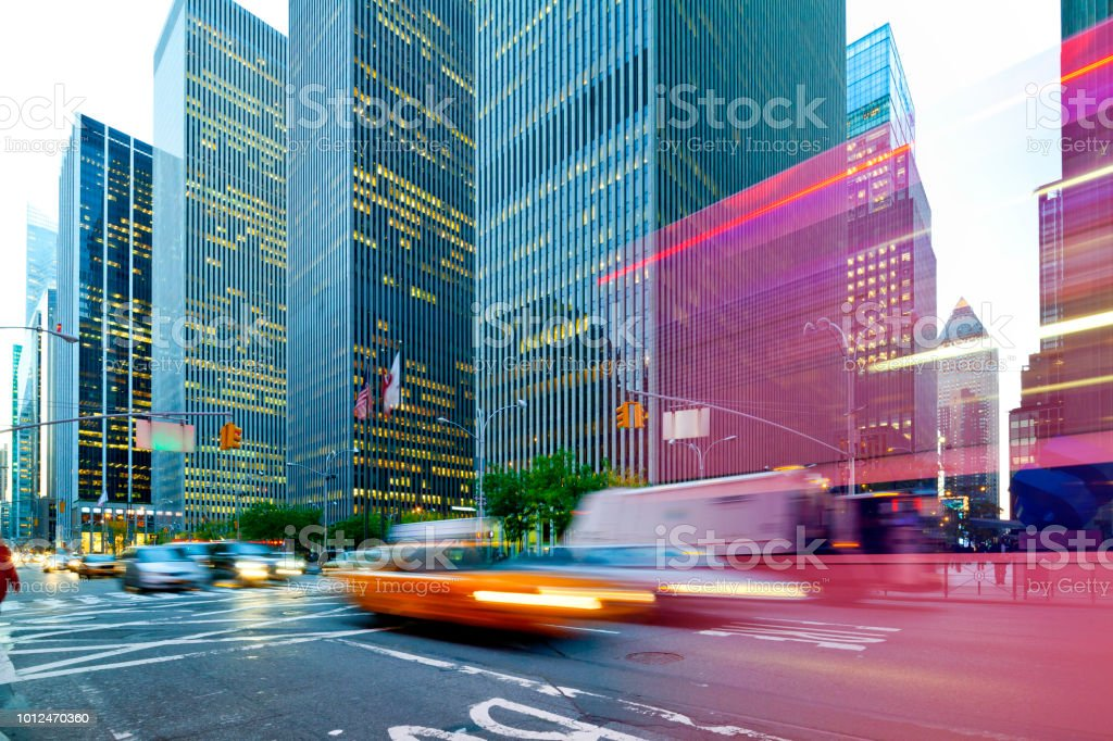 Downtown Manhattan, New York City stock photo