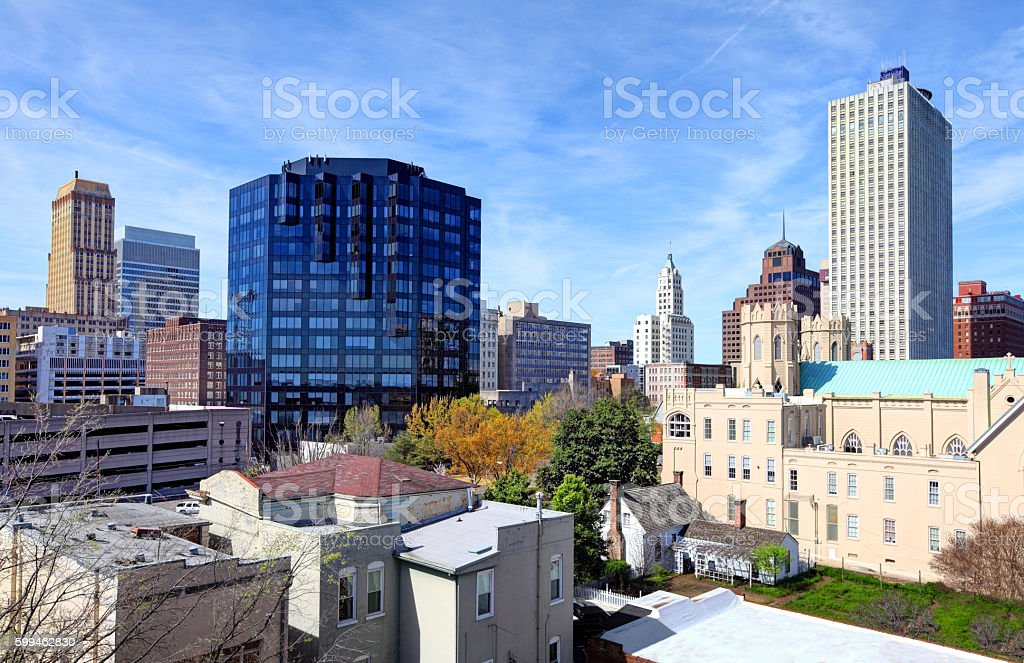Downtown Memphis Tennessee Skyline stock photo