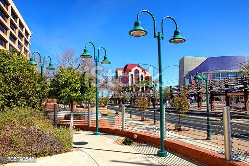 istock Downtown Mesa, Arizona 1205290542