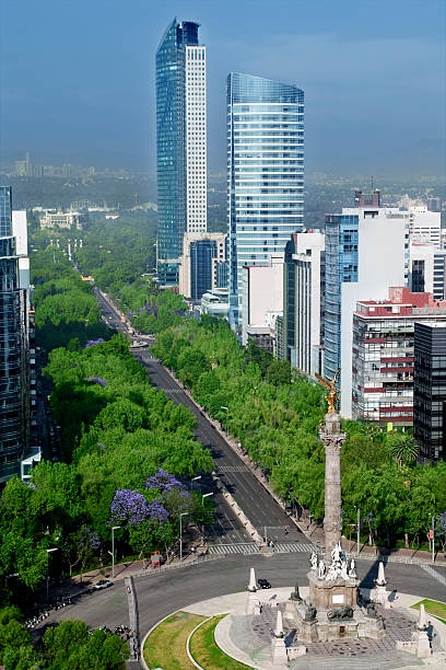Best Mexico City Skyline Stock Photos, Pictures & Royalty