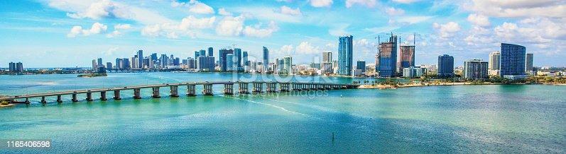 istock Downtown Miami Florida 1165406598