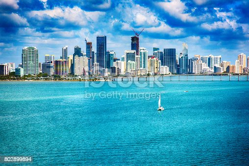 802893644 istock photo Downtown Miami Florida 802899894