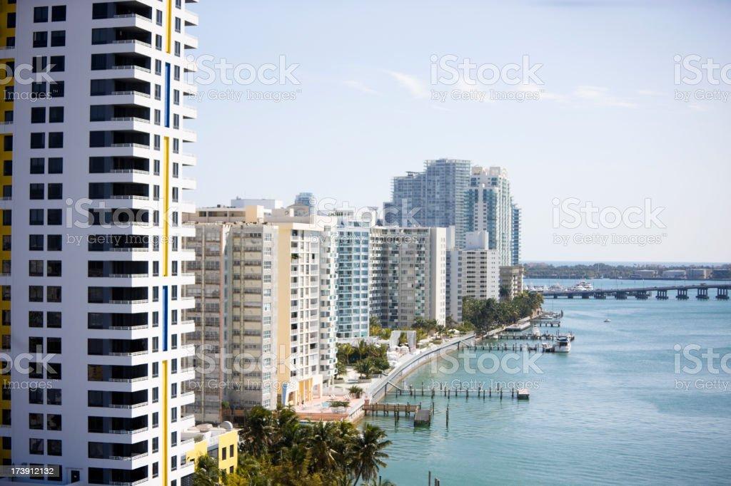 Downtown Miami XXXL royalty-free stock photo