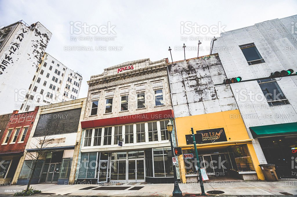 Downtown Mobile. royalty-free stock photo