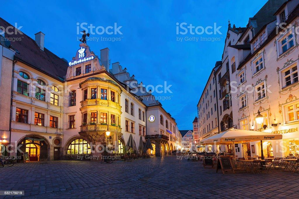 Downtown Munich, Germany stock photo