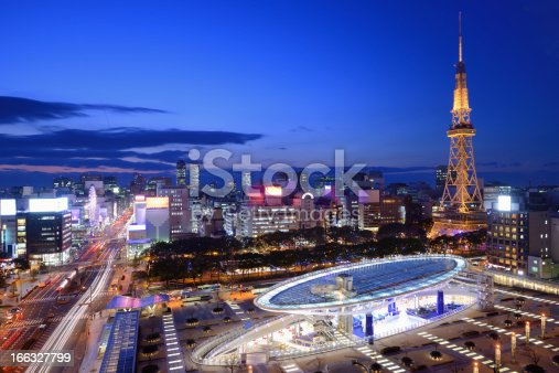 istock Downtown Nagoya 166327799