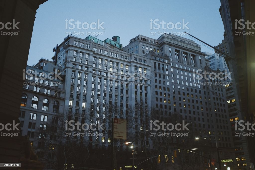 Downtown New York royalty-free stock photo