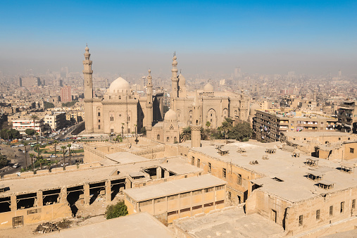 468444004 istock photo Downtown of Cairo seen from the Saladin Citadel (Egypt) 468786342