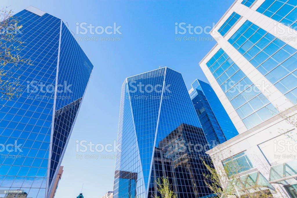 Downtown of Regina stock photo