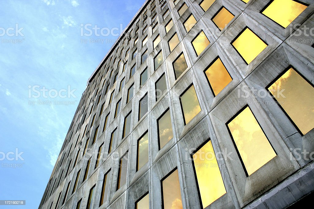 Downtown Office Building royalty-free stock photo