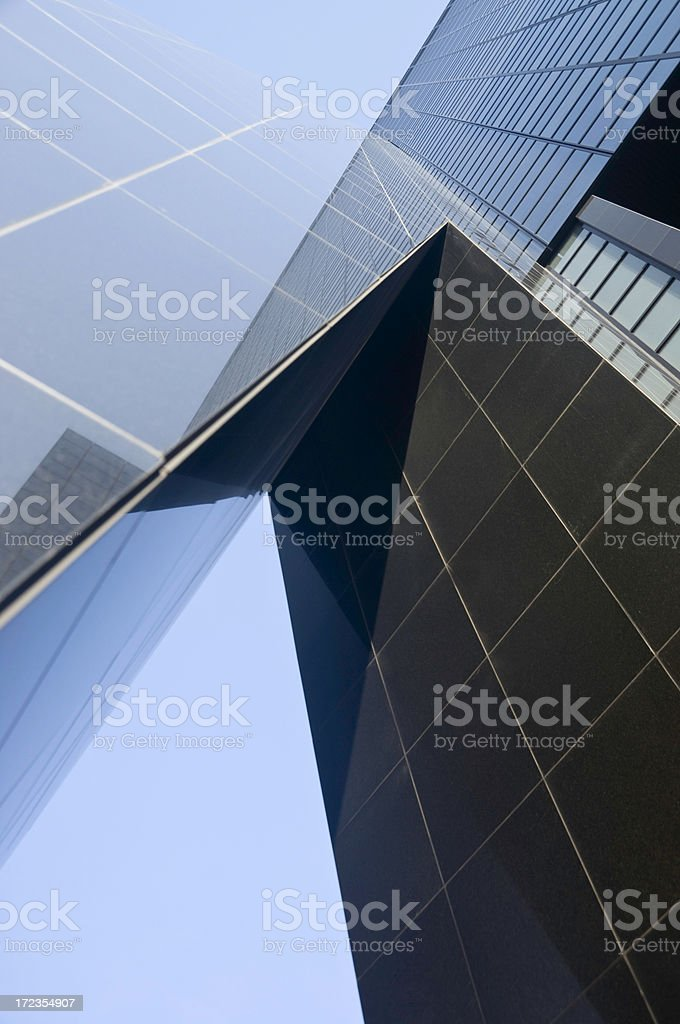 Downtown Office royalty-free stock photo