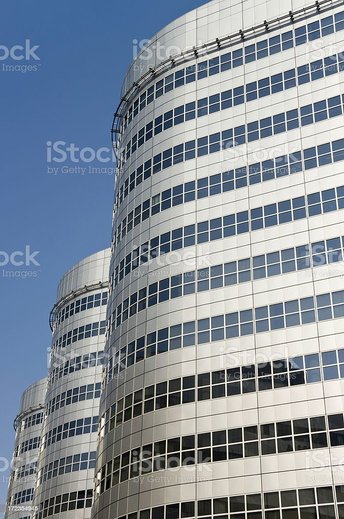 Downtown Offices royalty-free stock photo