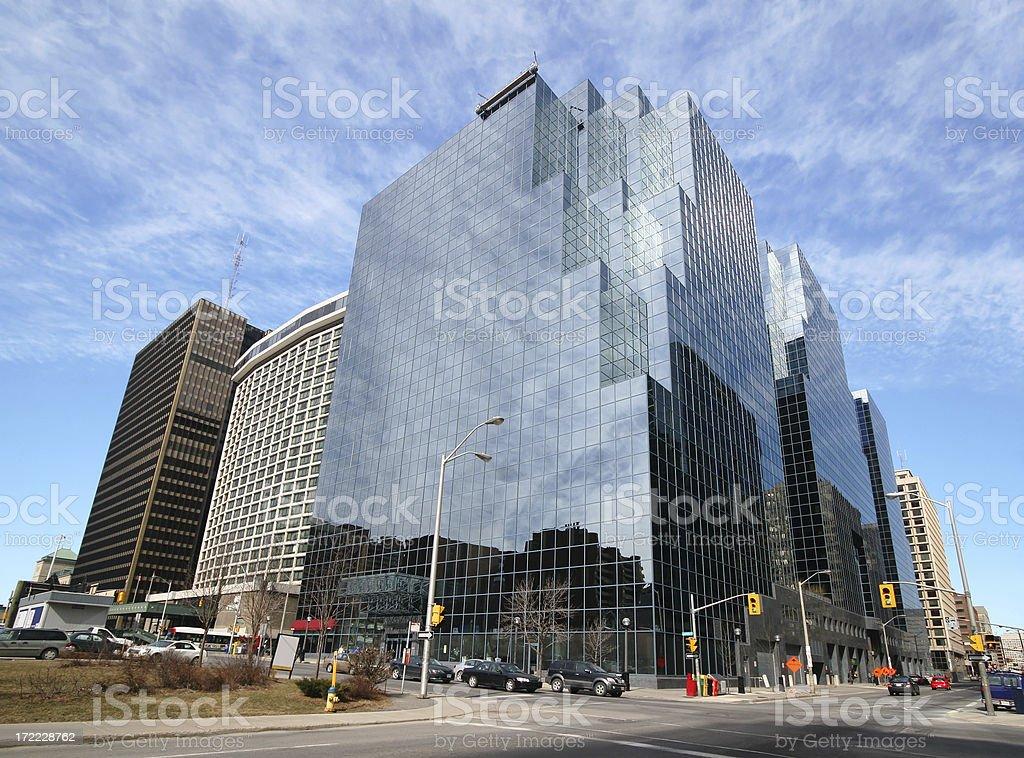 Downtown Ottawa royalty-free stock photo