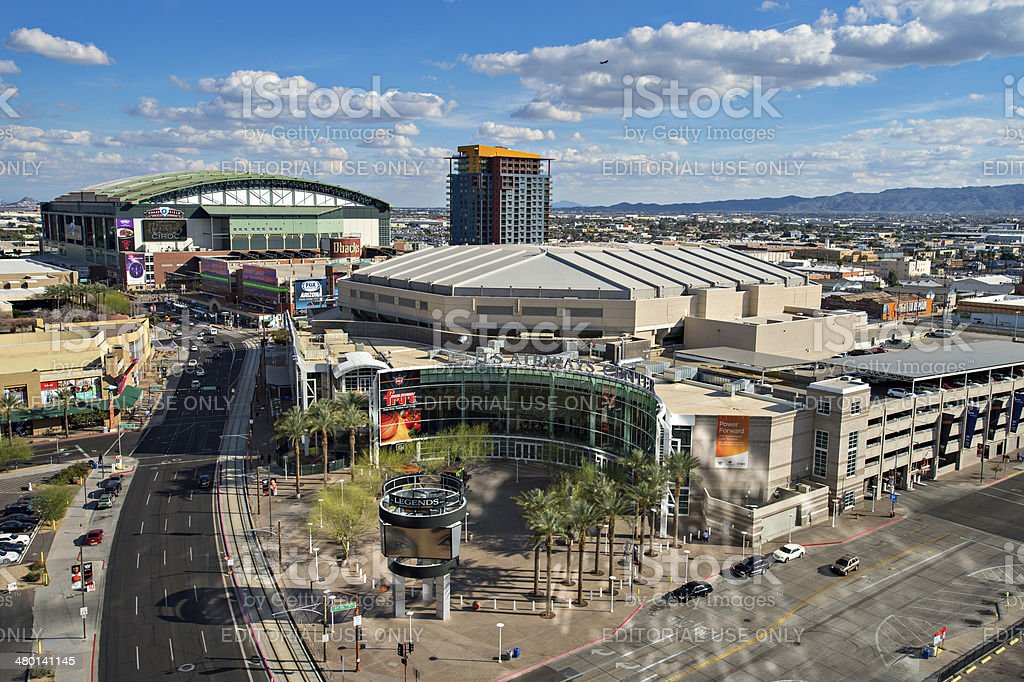 Downtown Phoenix, Arizona stock photo