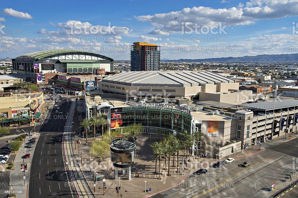 Downtown Phoenix, Arizona stock photo
