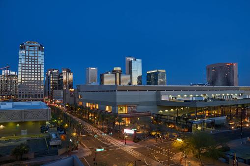 istock Downtown Phoenix Arizona Skyline at Sunrise in the Southwest USA 1146078743