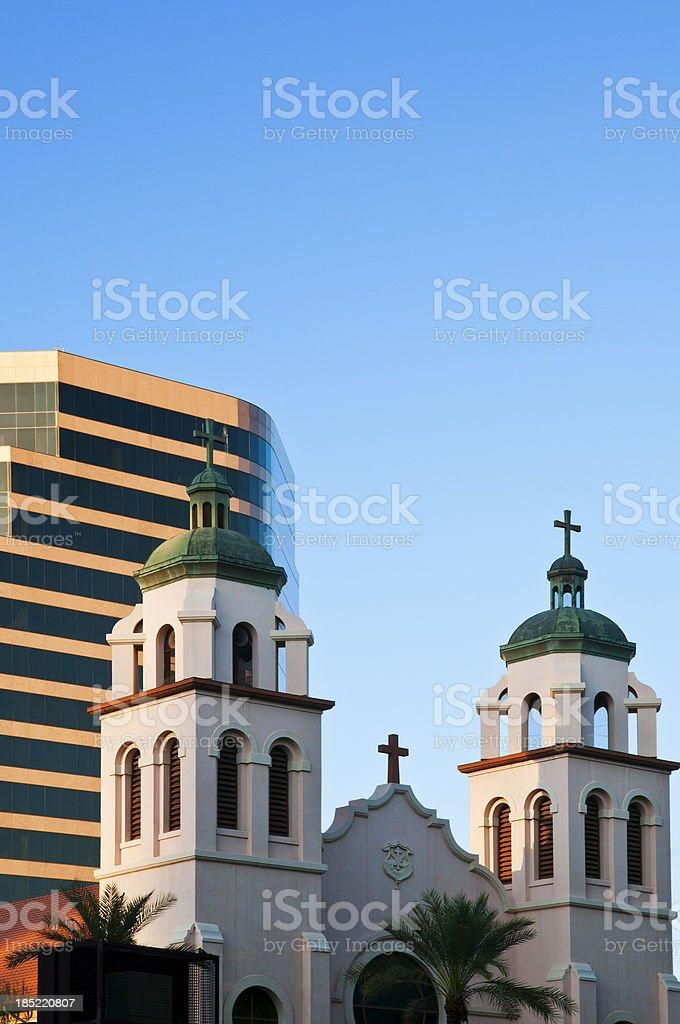 Downtown Phoenix stock photo