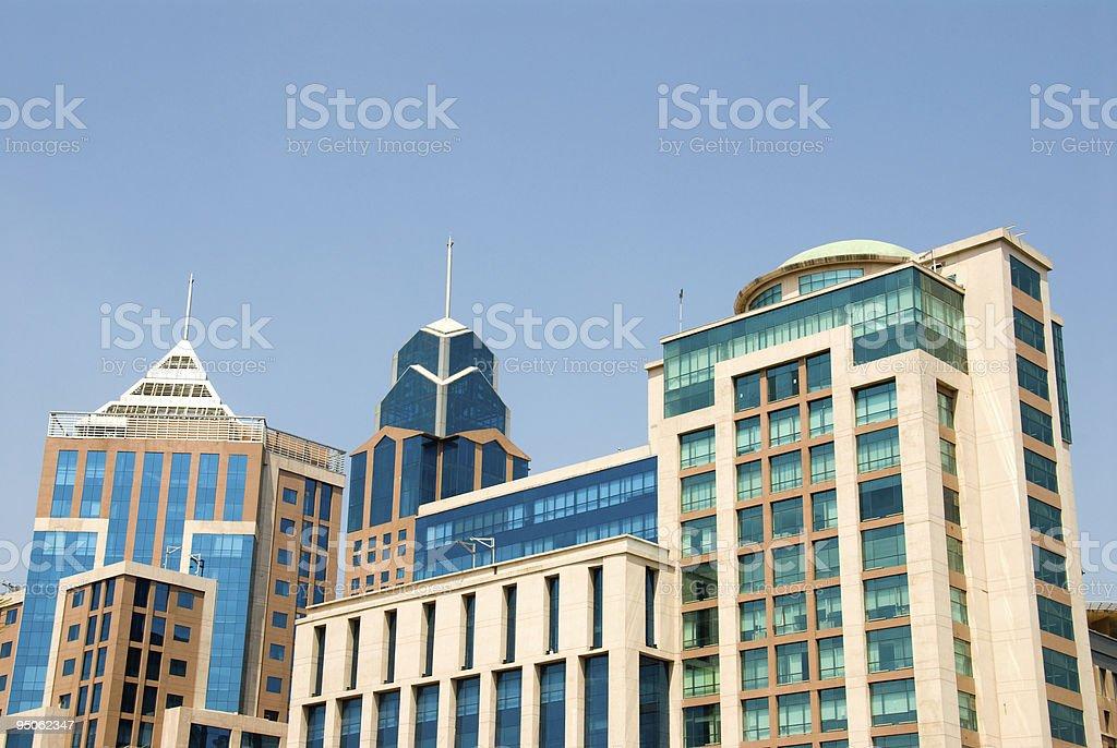 Downtown stock photo