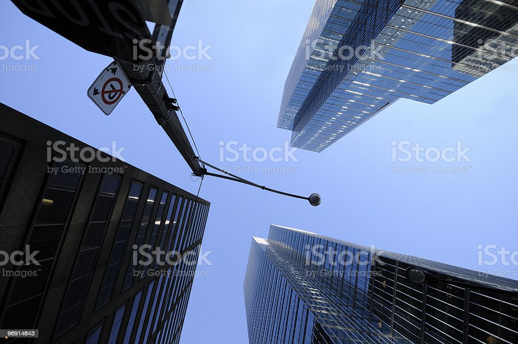 Downtown royalty-free stock photo