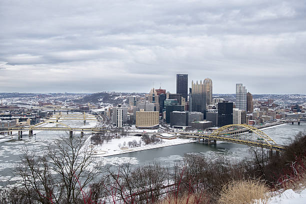 Cтоковое фото Центр города Питтсбурга (Pittsburgh