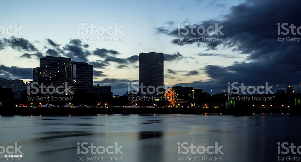 Downtown Portland Oregon royalty-free stock photo