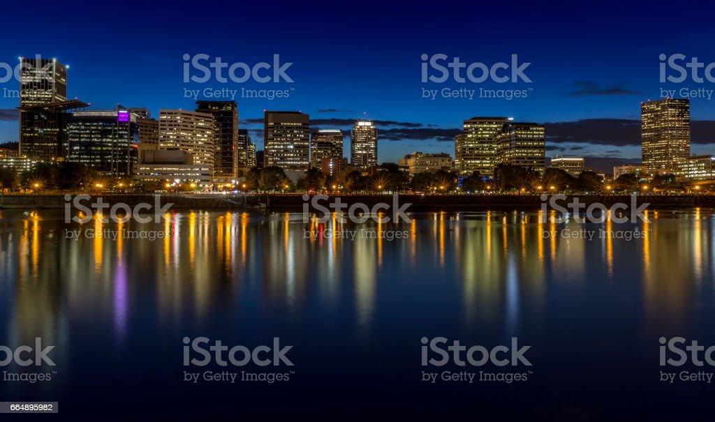 Downtown Portland, Oregon foto stock royalty-free